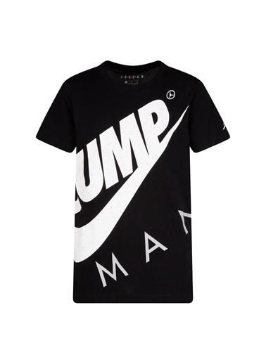 Nike Nike Baskılı Siyah T-Shirt Siyah